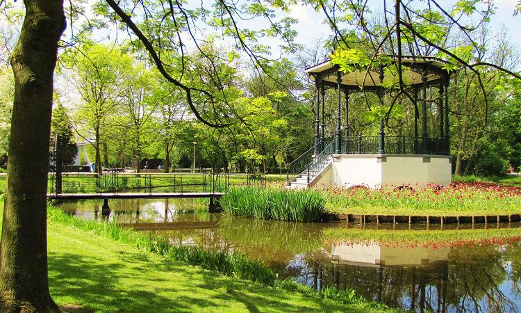 Bella glorieta del Vondelpark