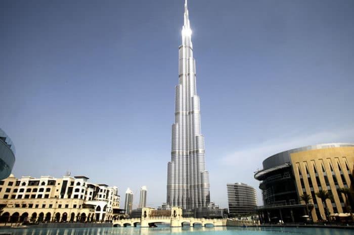 La Trorre Burj Khalifa, la más alta del mundo
