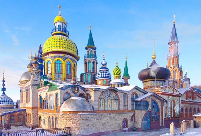 Una de las tantas iglesias de Kazan