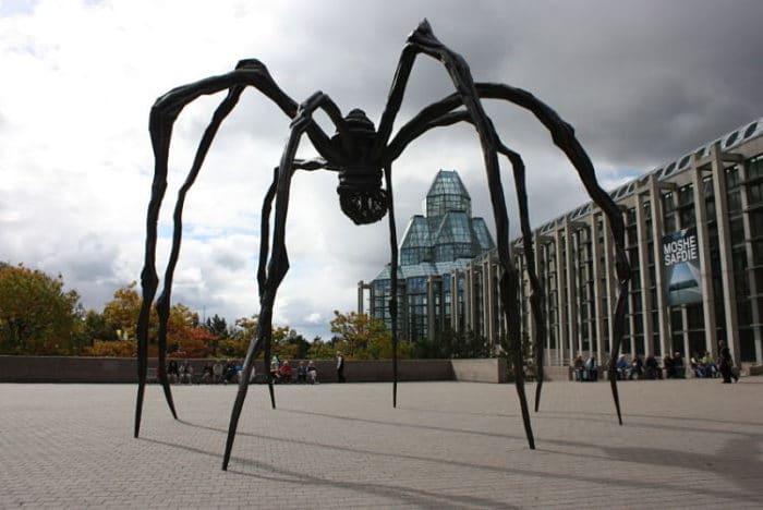 La araña en Londres