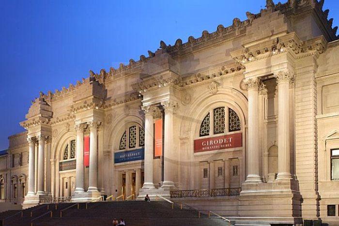 Fachada del Museo Metropolitano de Arte de Nueva York
