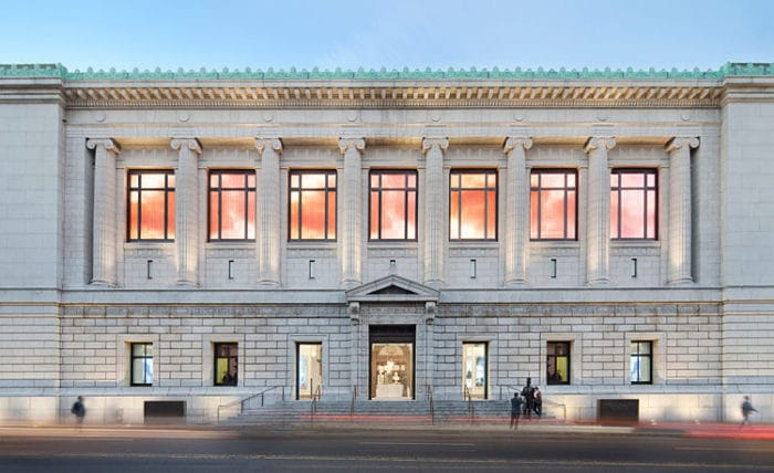 Fachada del Museo de la Sociedad Histórica de Nueva York