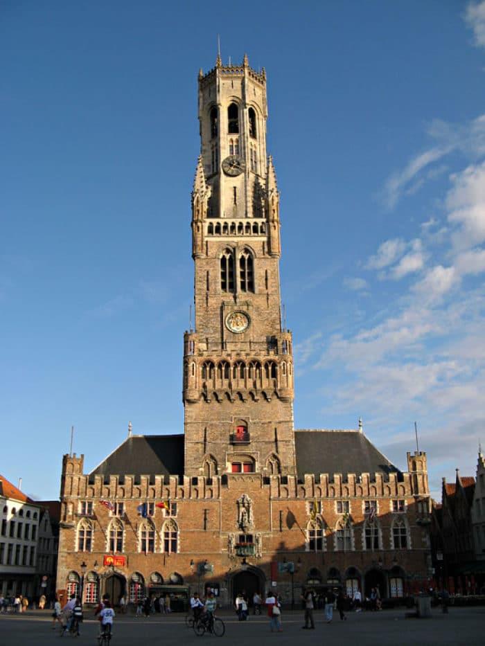 Campanario de Brujas, Bélgica