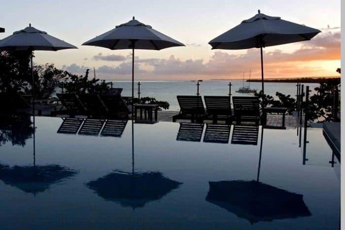 Hermosa vista desde el Casa Colonial Beach & Spa