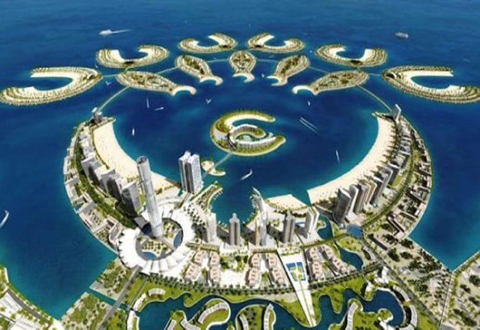 Complejo de Islas artificiales Amwaj