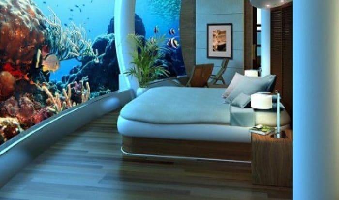 Habitación del Resort Submarino Poseidon
