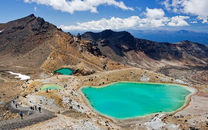 Lagunas del Parque Nacional Tongariro