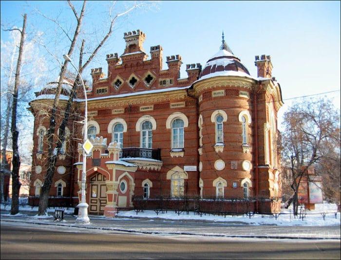 Uno de los Museos que podemos encontrar en Irkutsk