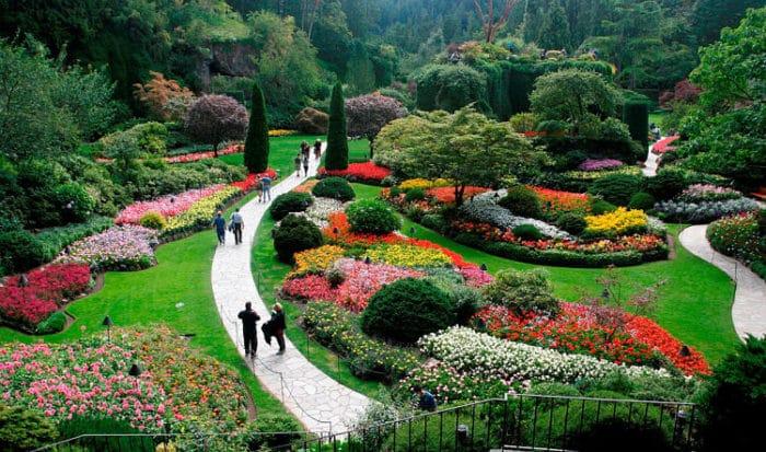 10 hermosos jardines al rededor del mundo for Diseno jardines