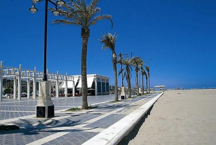 Paseo de Playa Malvarrosa