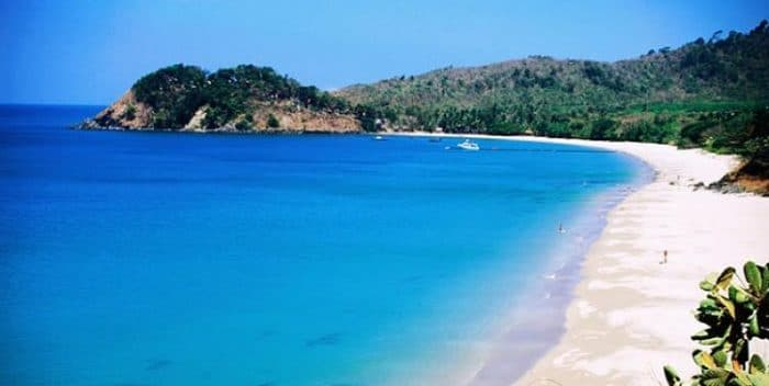 Una de las hermosas playas de la Isla Koh Lanta
