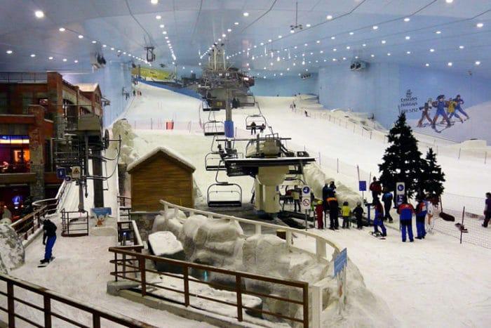 Complejo Esquí Dubai