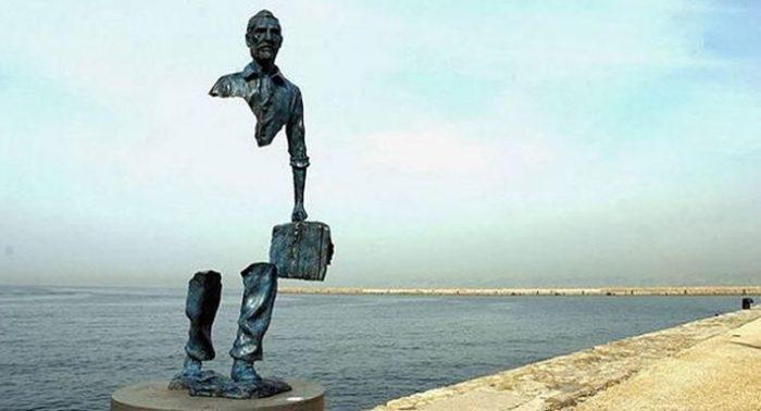 Una de las obras de Catalano que se pueden ver en Marsella