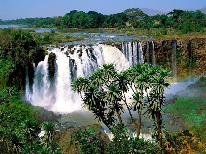 Cataratas de Blue Nile