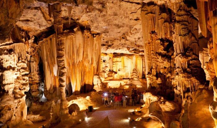 Parte de las Cuevas Cango