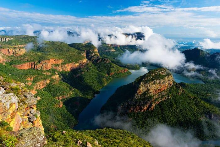 Suráfrica-Cañón Blyde River