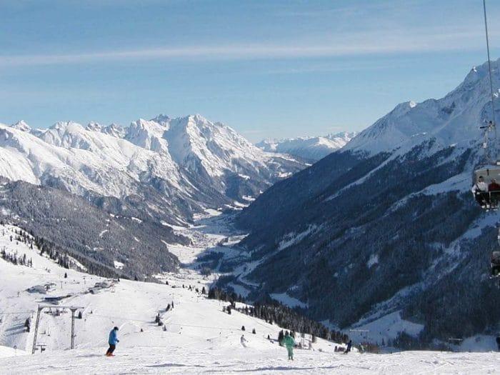 Pista de esquí de St Anton am Arlberg