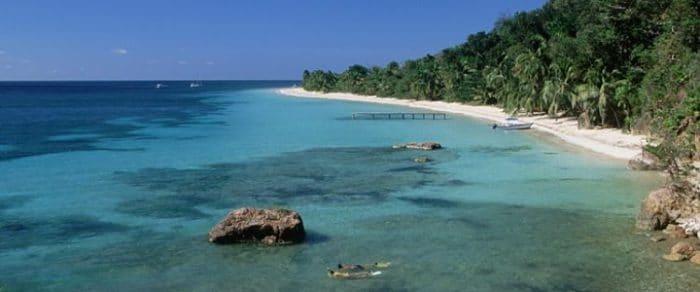 Hermosa playa de Punta Sal