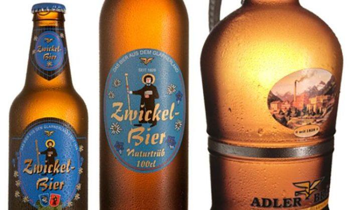 Tipos de cerveza de la compañía Zwickelbier
