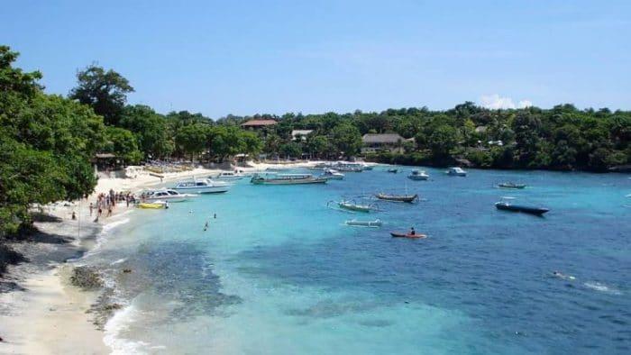 Centro de buceo en Playa Honho en Nusa Lembongan