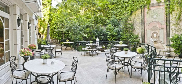 Restaurant El jardín de Orfila