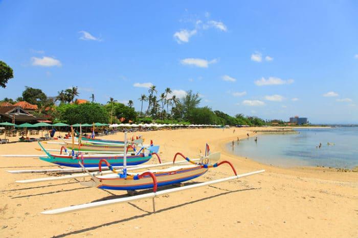 Costa de la Playa Sanur