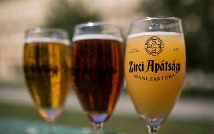 Muestra de una de las cervecerías de Budapest, la Marionett Craft Beer House