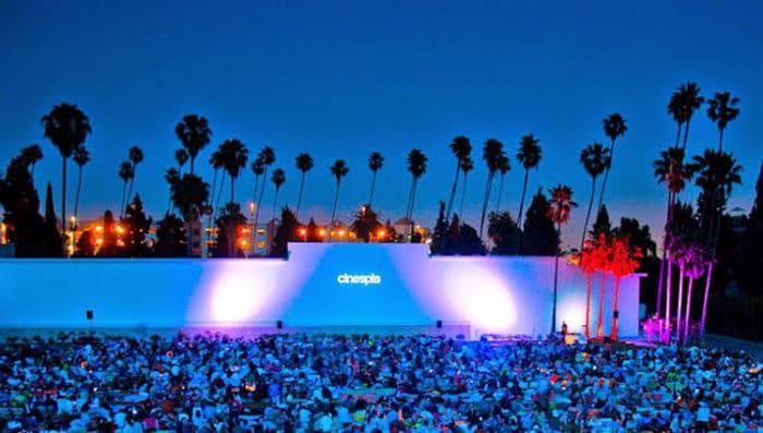 Cinespia en Hollywood California