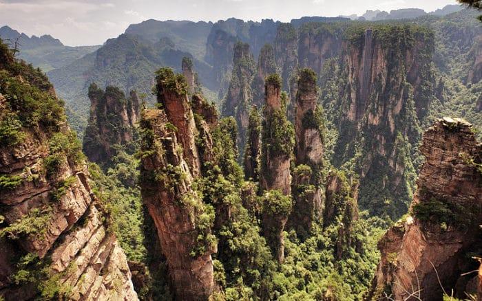 Formaciones de Zhangjiajie