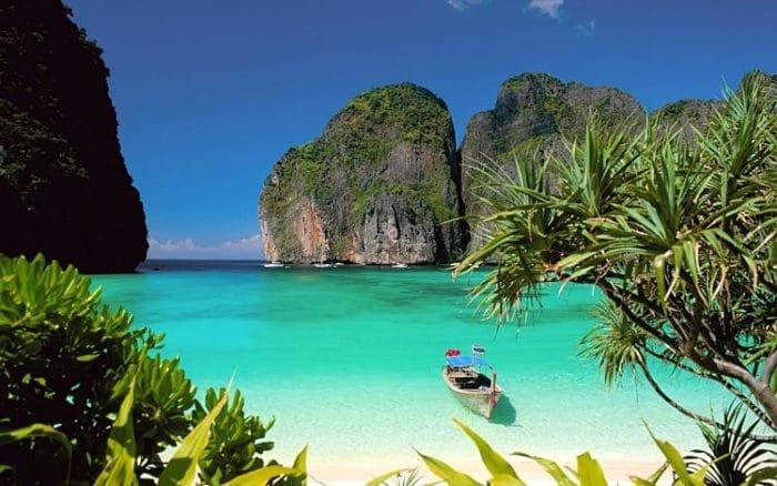 Una de las hermosas costas que podremos disfrutar en Tailandia
