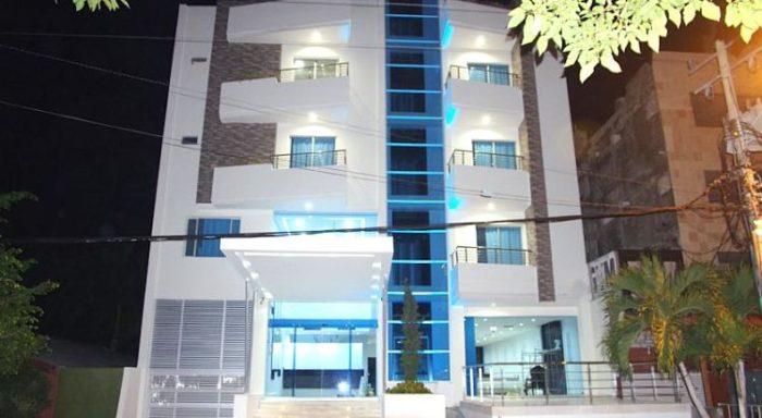 Entrada del Hotel Oxford Barranquilla