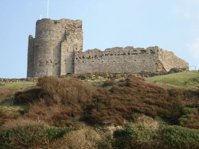 Vista del Castillo de Criccieth