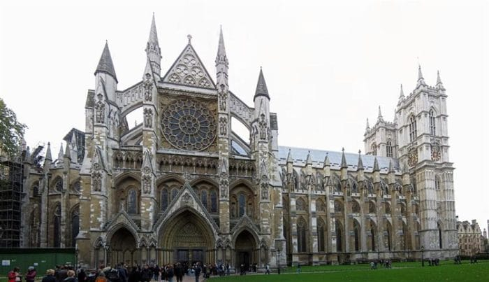 Entrada a la espectacular Abadía de Westminster