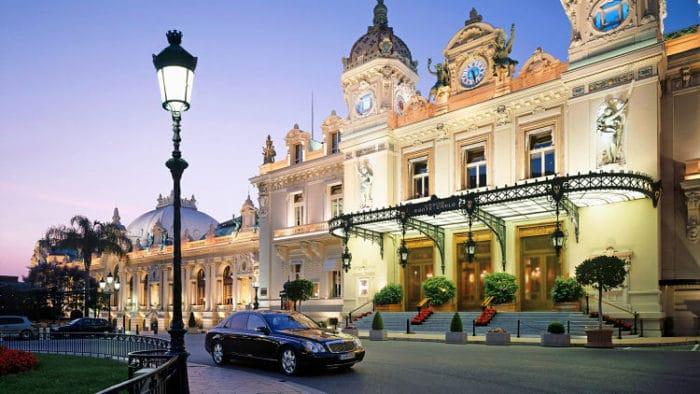 Entrada al Casino de Monte Carlo