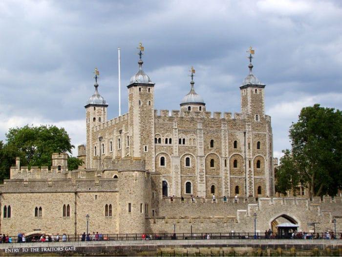 Parte del complejo conocido como La Torre de Londres