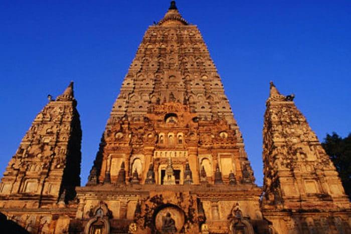 Hermoso diseño del Templo Mahabodhi