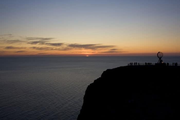 Vista del Cabo Norte o Nordkapp