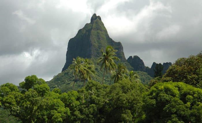 Vista del Monte Mouaroa