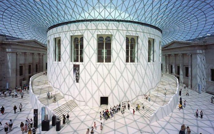 Gran patio del Museo Británico