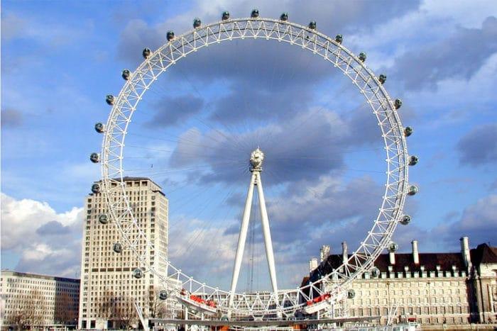La rueda de observación conocida como el Ojo de Londres