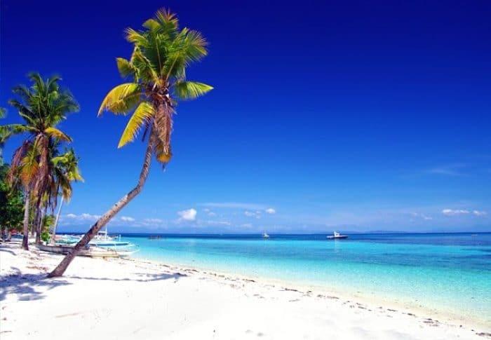 Hermosa playa en Malapascua