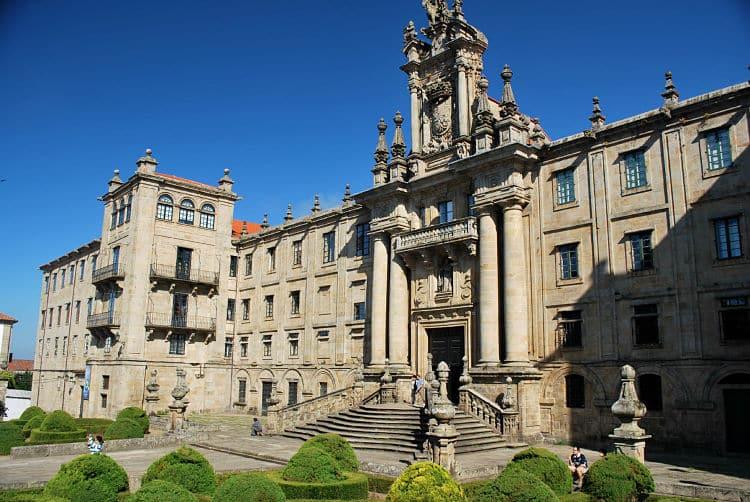 Sitios de interés en Santiago de Compostela
