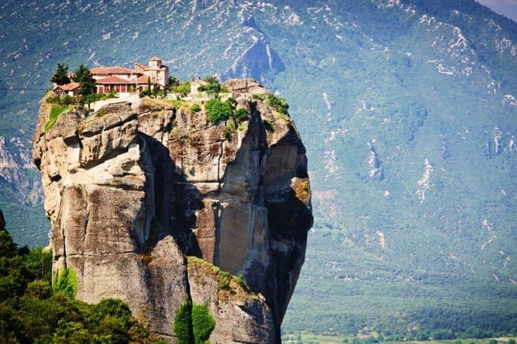 Imponentes monasterios de Meteora