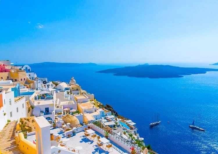 Mykonos en las Islas Griegas