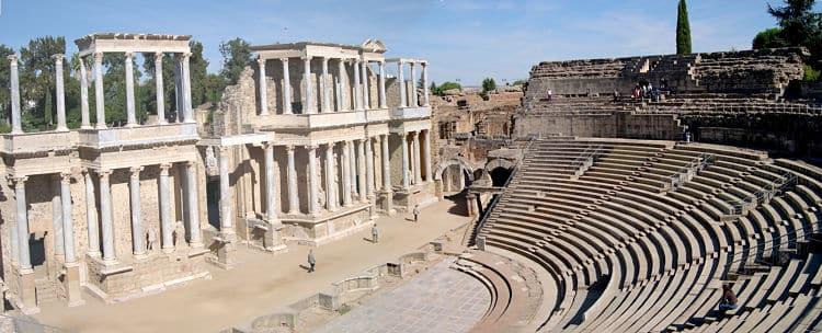 Teatro Romano de la ciudad de Mérida