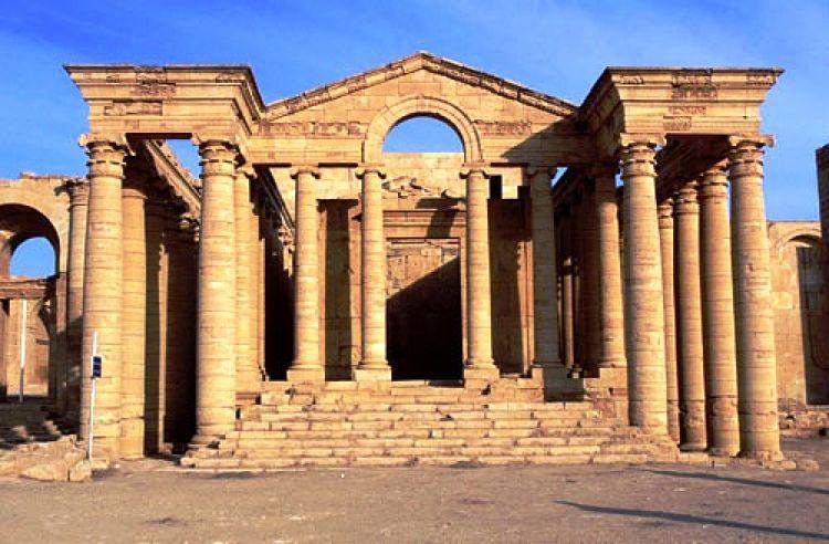 Parte de las ruinas de la Ciudad de Hatra