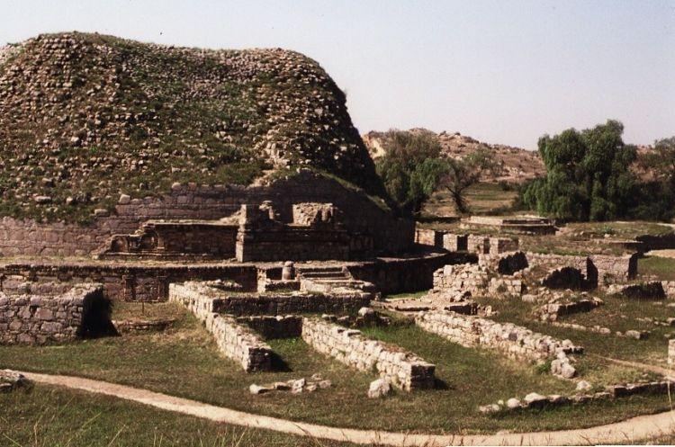 Ciudad perdida de Taxila en Pakistán