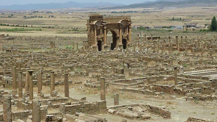 Ruinas de la ciudad de Timgad