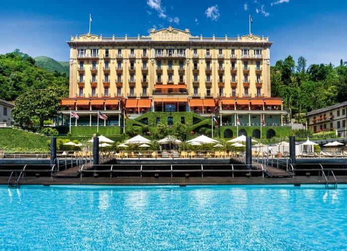 Grand Hotel Tremezzo a orillas del Lago Como