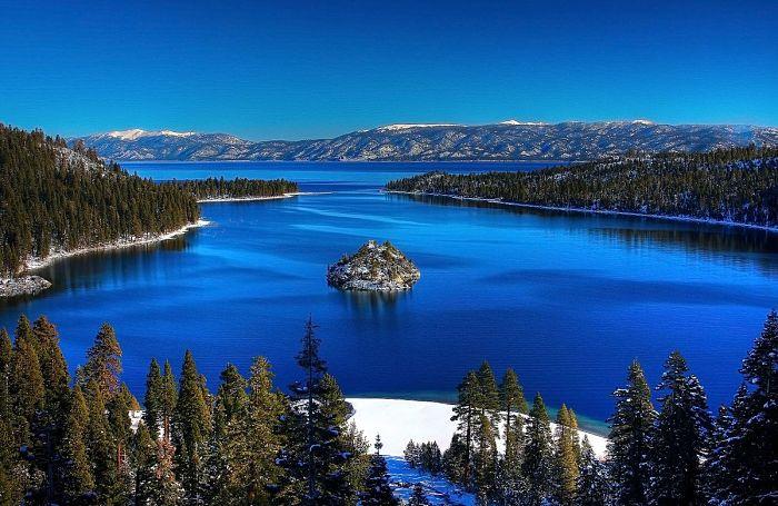 Vista del lago tahoe
